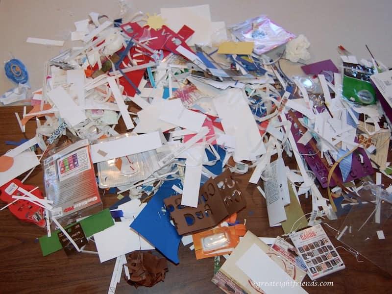 Scrapbooking Trash