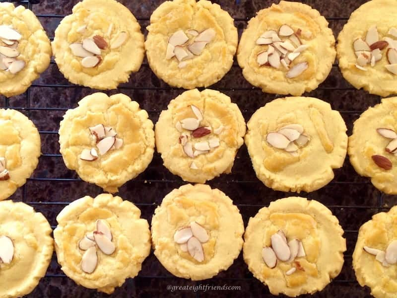 Almond Cookies 6
