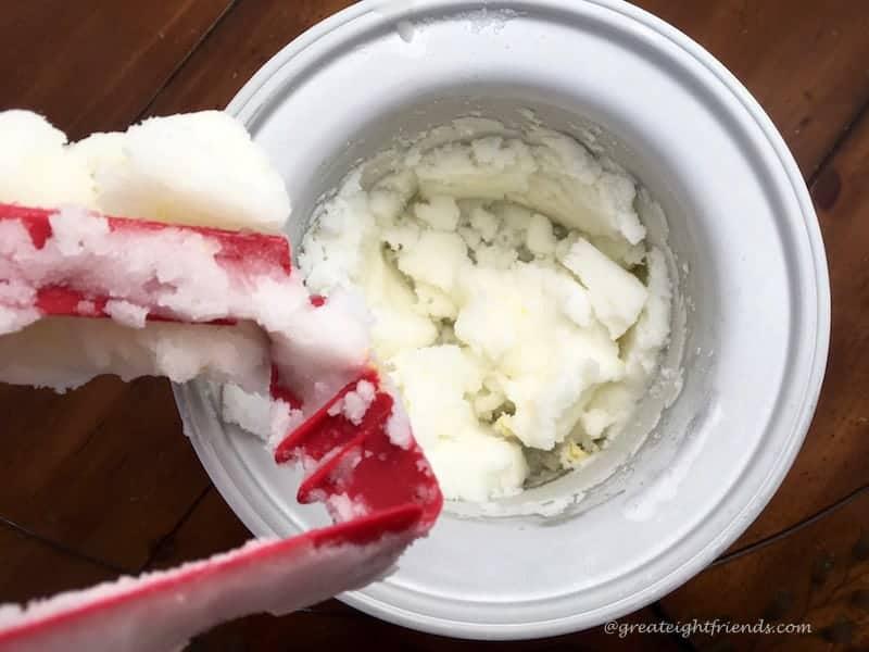 Lemon Sorbet Ice Cream Maker