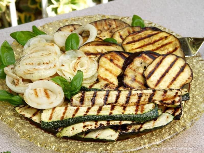Grilled Vegetables 3
