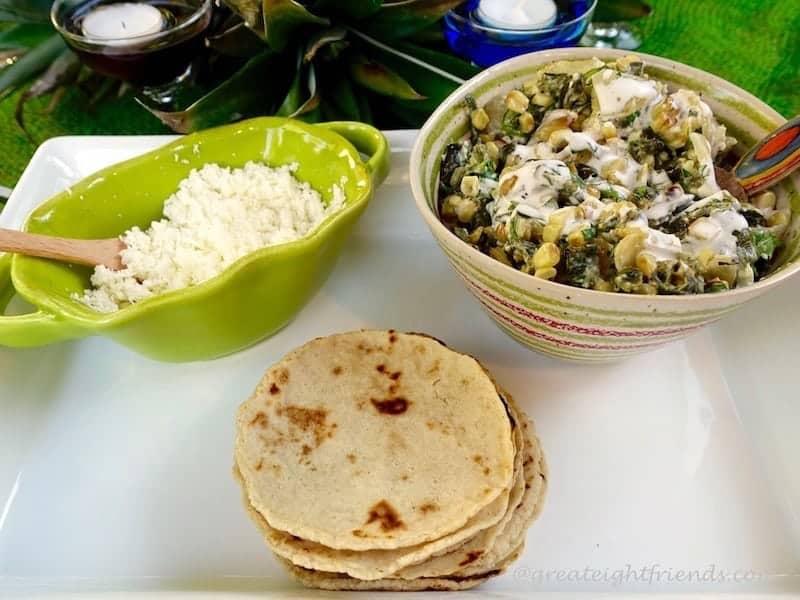 Charred Poblano Tacos