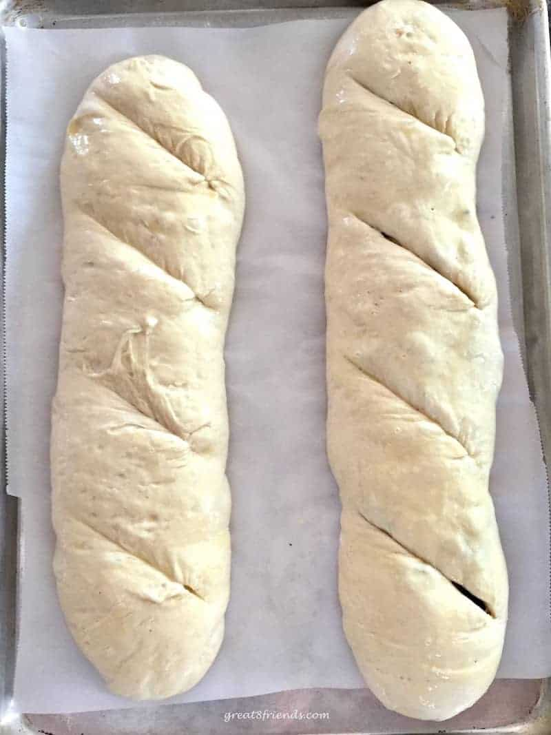 Homemade bread is one of the best things on the planet. And if you have two hours you can make this bread. Olive Bread 2-2-2; 2 rises, 2 loaves, 2 hours.