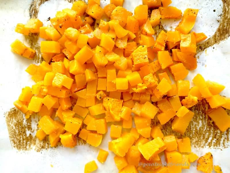 Browned Butter Squash Pasta Cubed