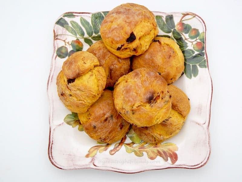 Pumpkin Biscuits plated 3