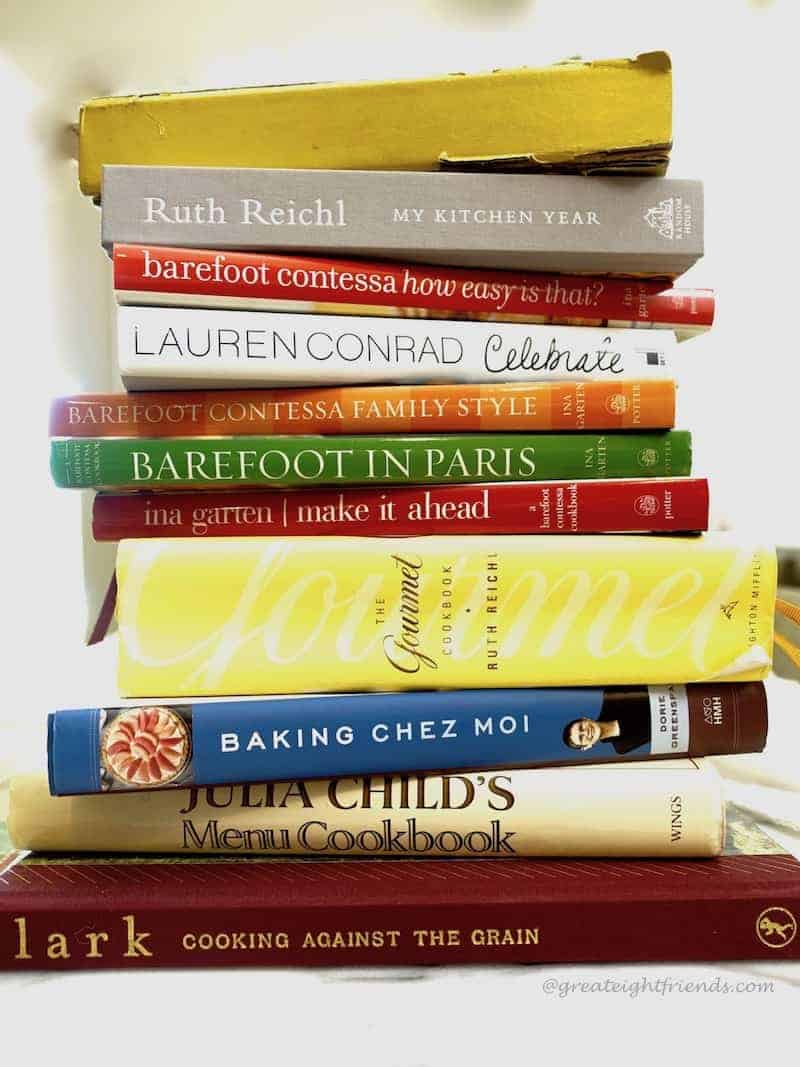 The Great 8 Friends Goes Gourmet Cookbook Cravings Stack