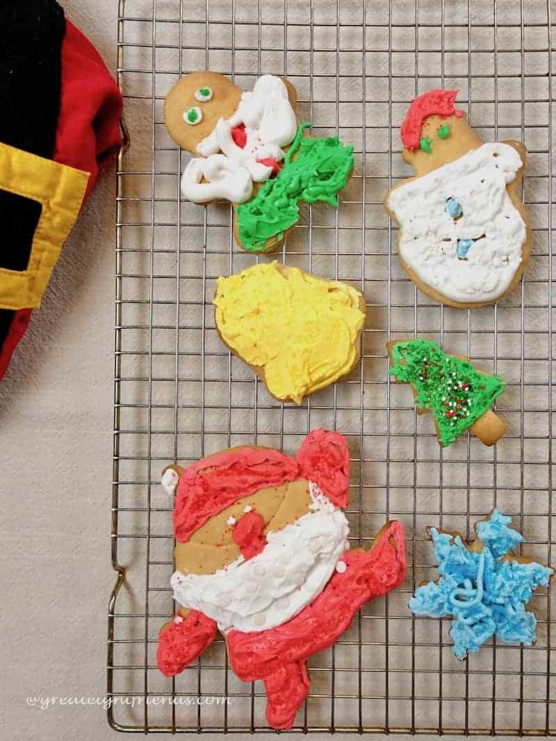 Christmas Cookie Bake ems decorated cookies