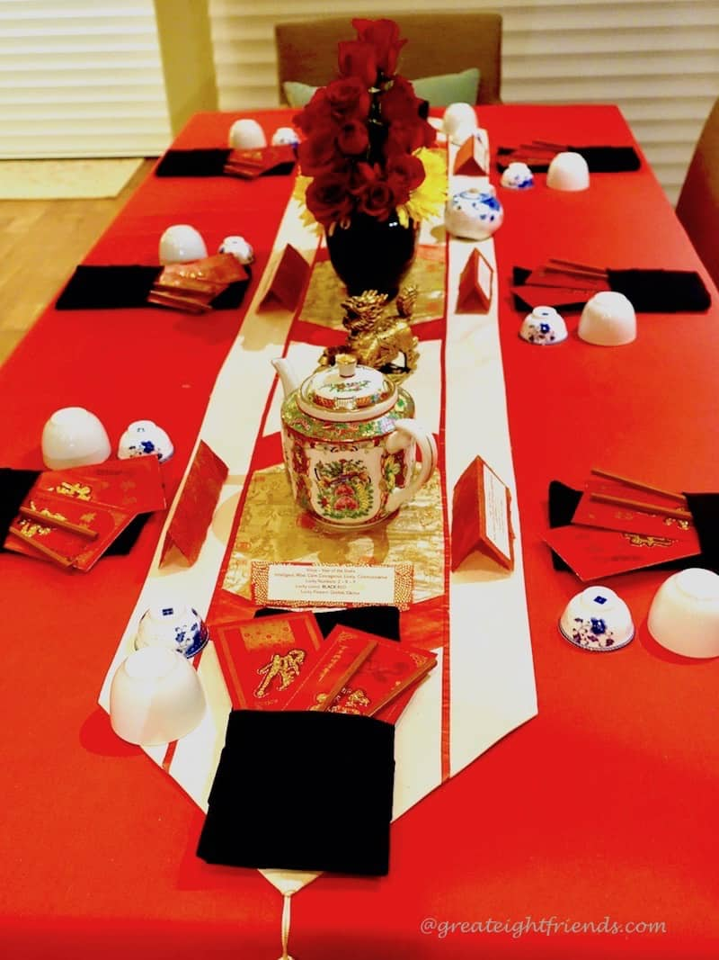 Chinese New Year Table