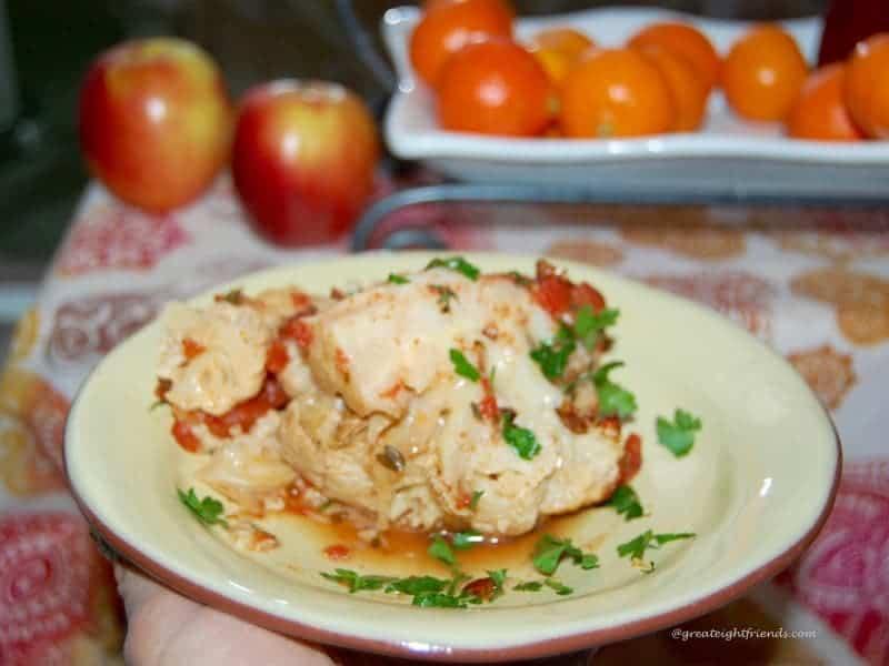 Plated Roasted Cauliflower