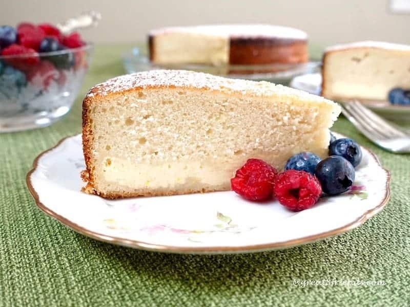 feeling like a little italian italian ricotta cake horiz