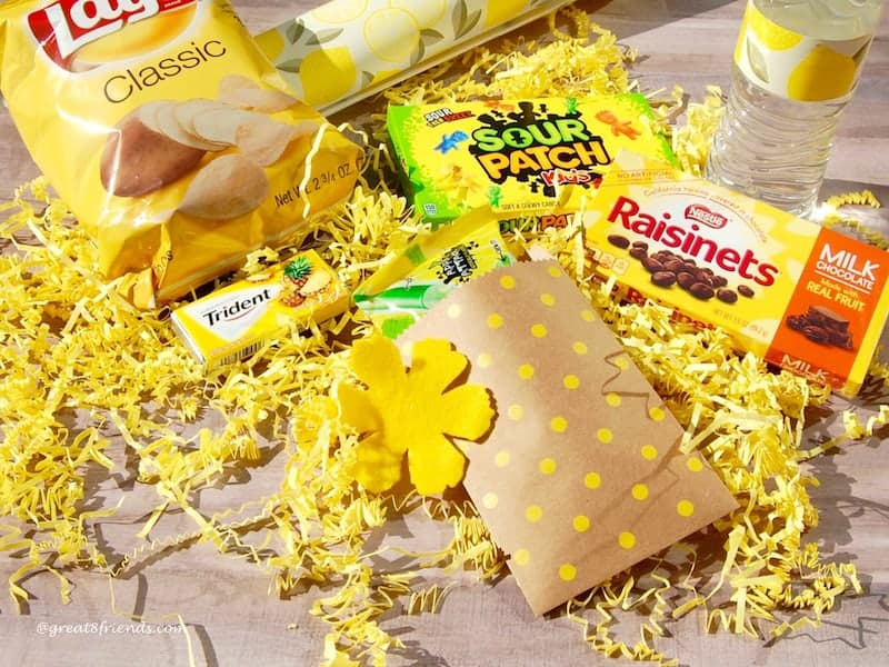 Box of Sunshine snacks