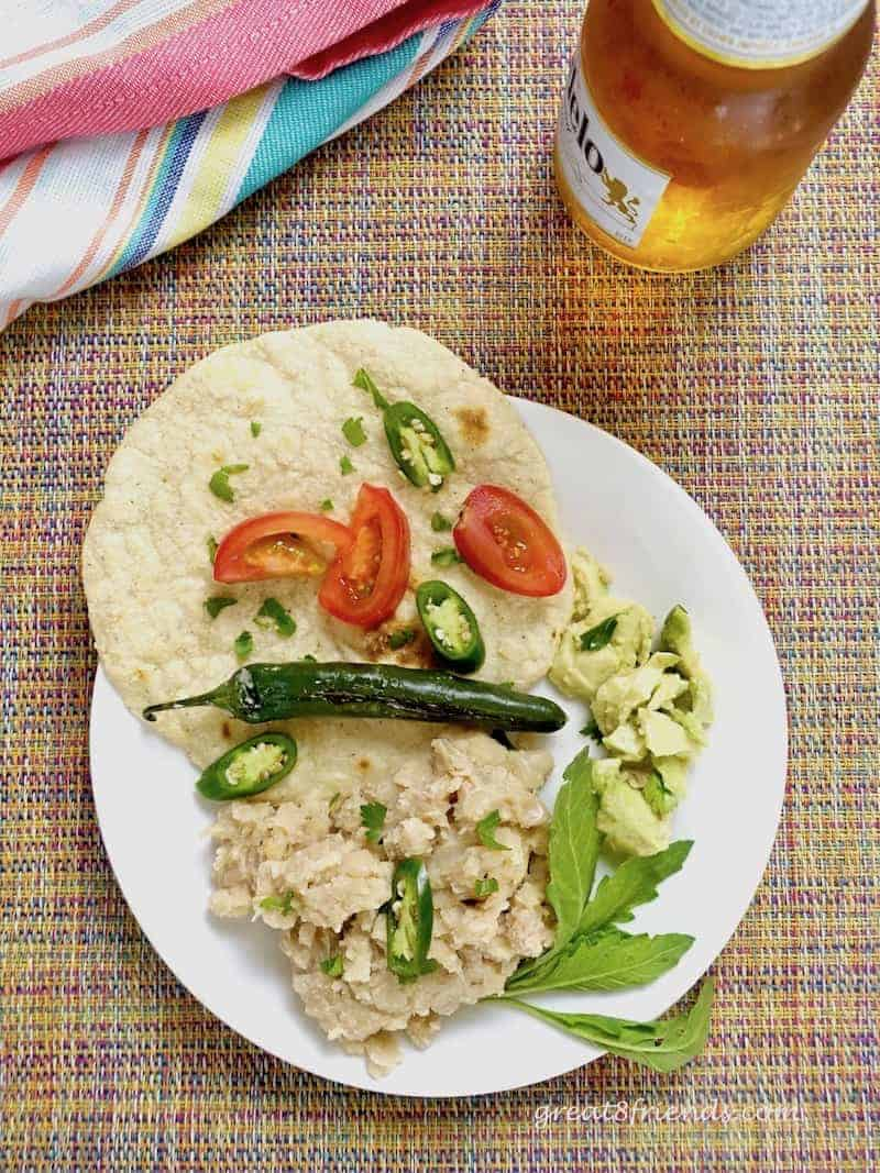 Healthy Tasty NOT Refried Beans