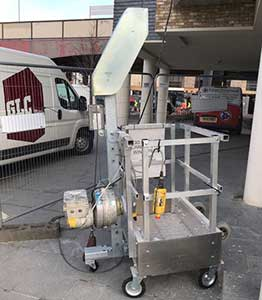 greater london cradles access hire work cage