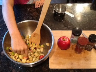 Raw Spiced Apples