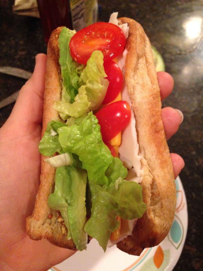 Healthy Gluten Free Sandwich