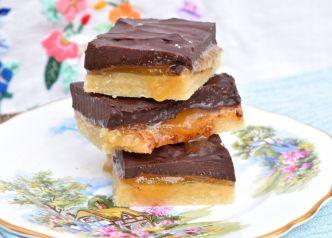 Paleo Chocolate Honey Bars