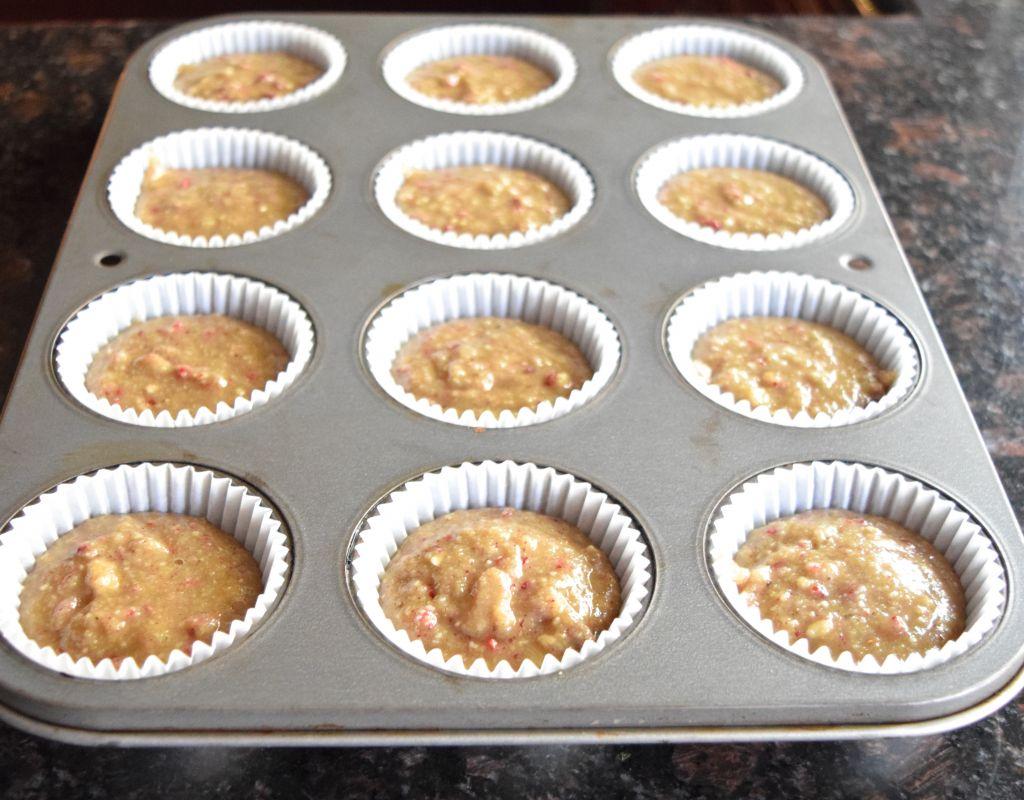 Paleo Berry Cupcakes
