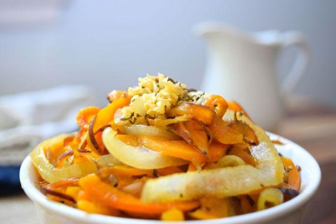 Spiralized Sweet Potatoes