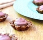 Vegan Chocolate Blackberry Tartlets
