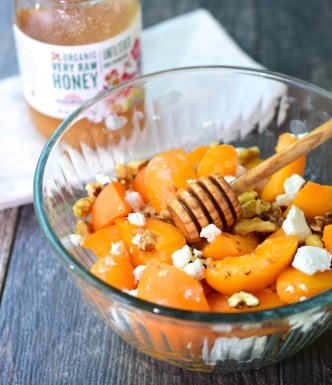 Apricot Goat Cheese Salad
