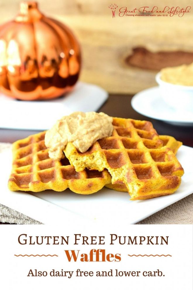 Gluten Free Pumpkin Waffles