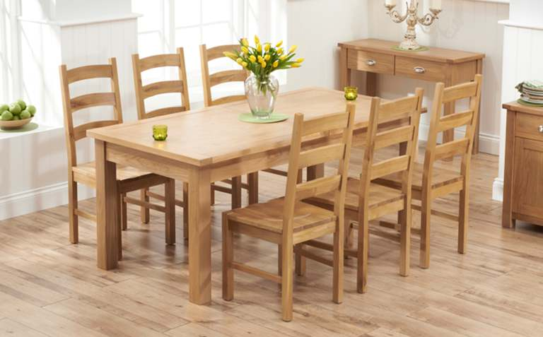 Image Result For Solid Oak Dining Room Table And Chairs