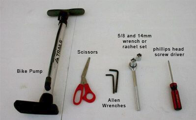 bike assembly tools needed