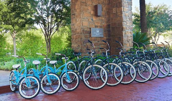 resort hotel loaner bikes