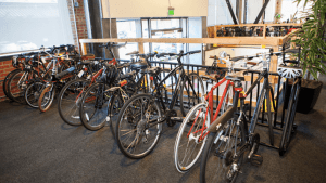 pinterest employee bike perk