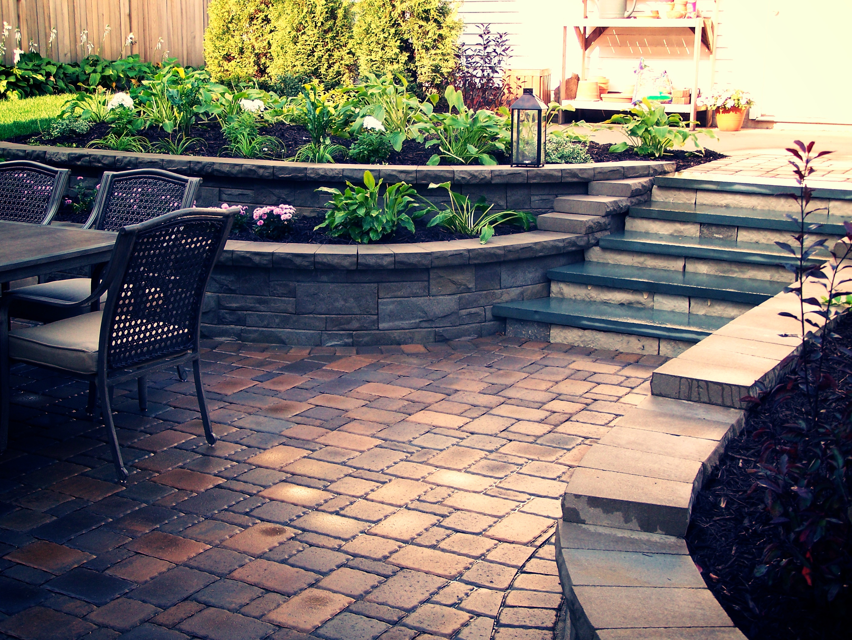 Patios - Great Goats LandscapingGreat Goats Landscaping on Patio Stone Wall Ideas id=86898