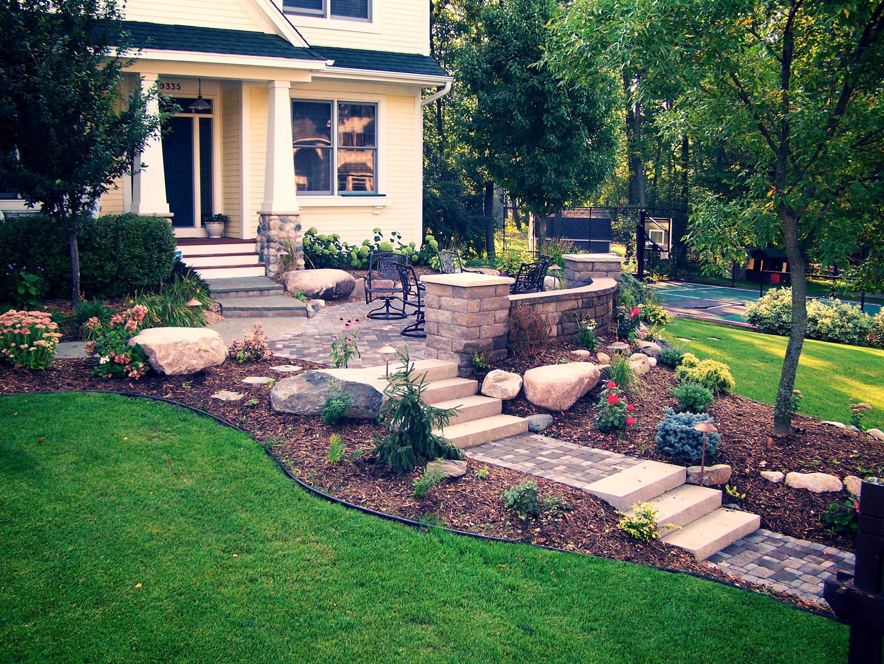 What To Do Now To Prepare Your Yard for Spring - Great ... on Backyard Patio Steps id=79596