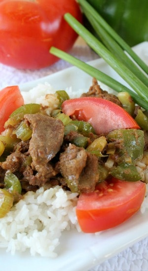 Green Pepper Steak