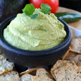 Spicy Hummus with Avocado