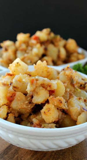 Spicy Home Style Potatoes