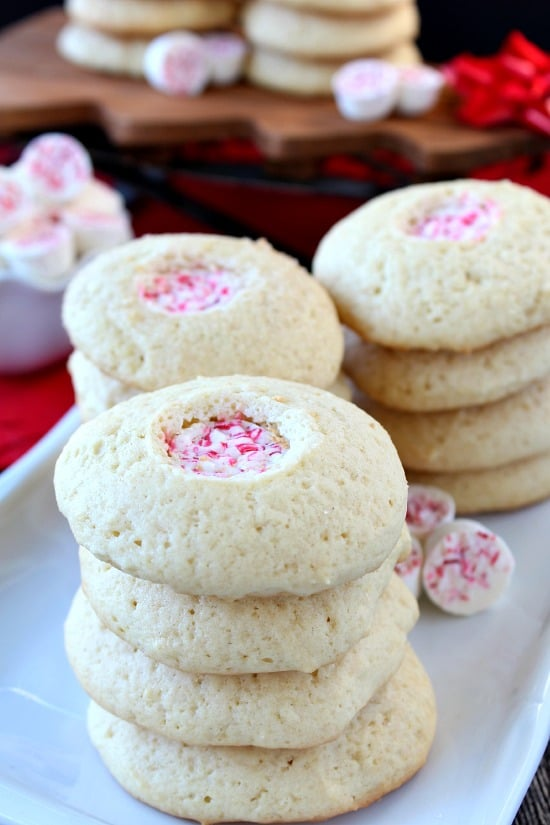 Peppermint Sour Cream Softies