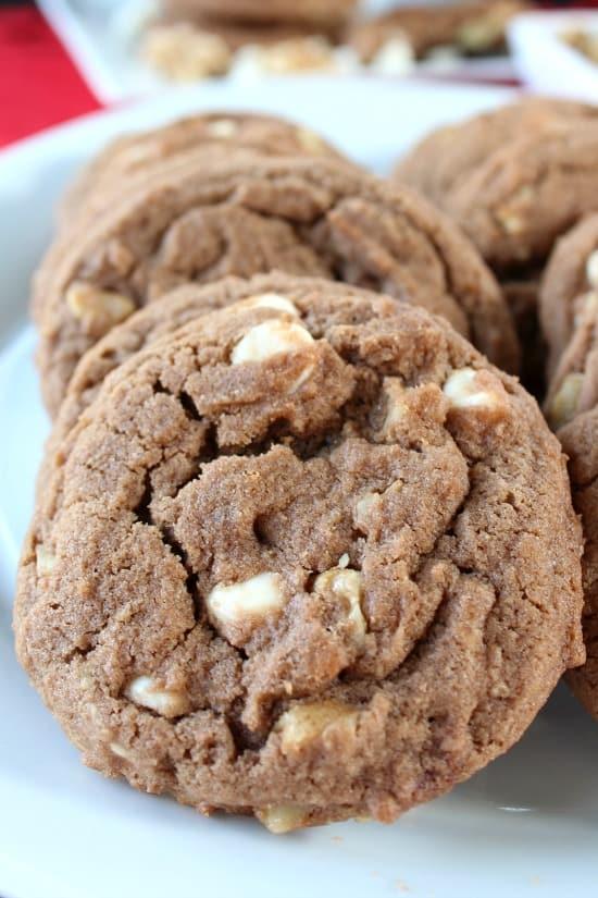 Chocolate White Chocolate Chip Walnut Cookies