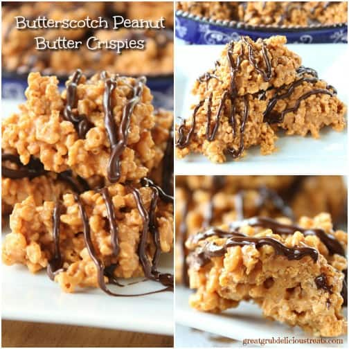 Butterscotch Peanut Butter Crispies