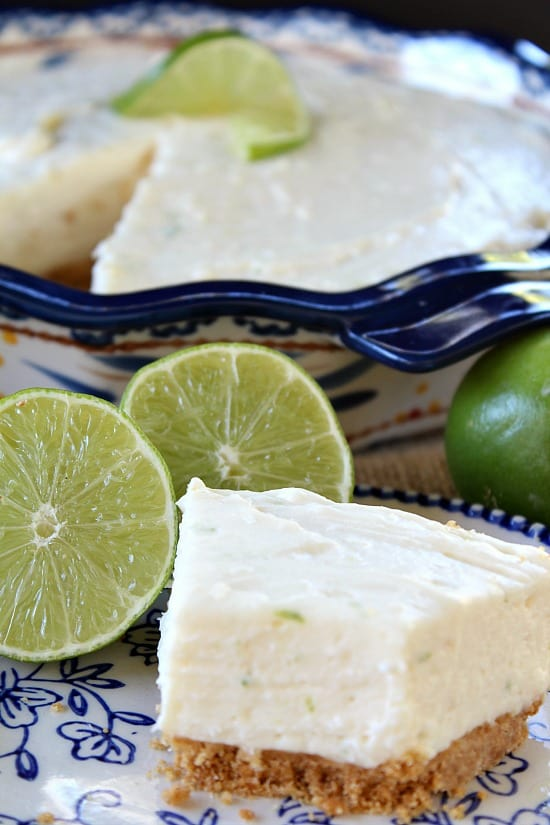 Cream Cheese Coconut Key Lime Pie