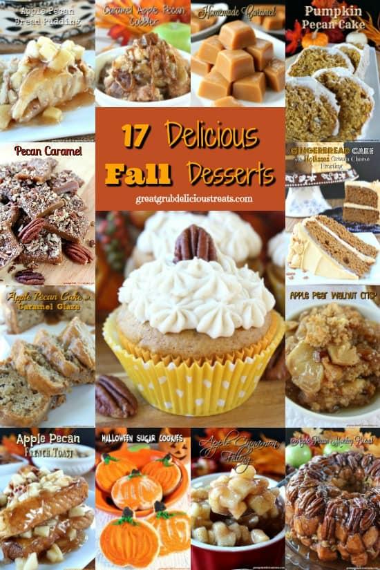 17 Delicious Fall Desserts