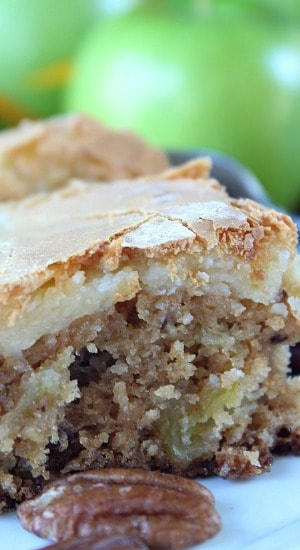 Gooey Apple Cake