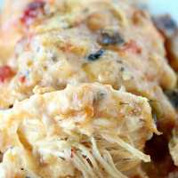 Crock Pot Cheesy Chicken