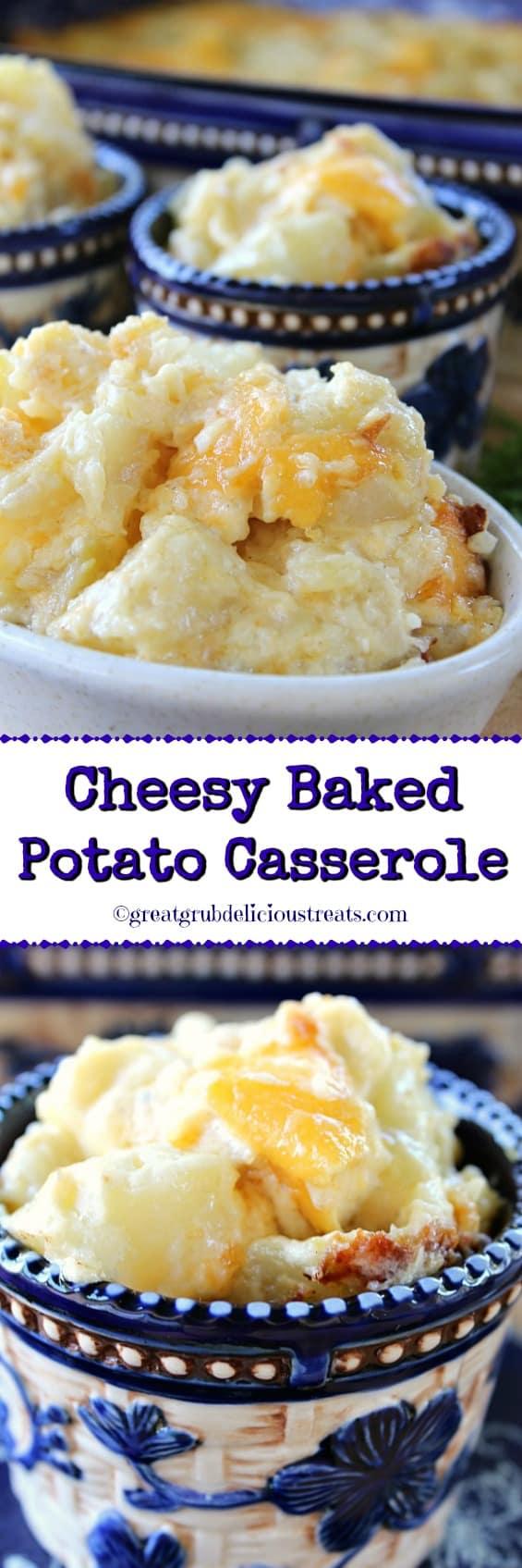Cheesy Baked Potato Casserole