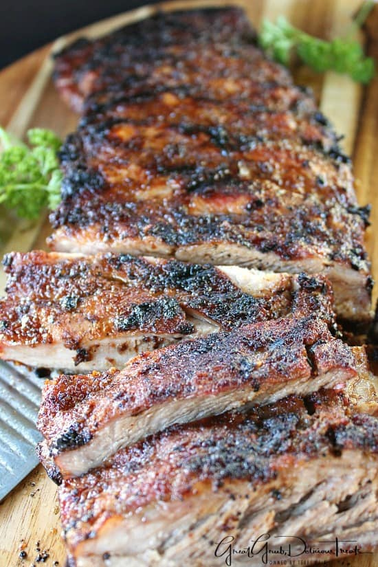 BBQ Dry Rub Pork Ribs