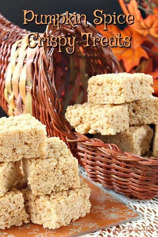 Pumpkin Spice Crispy Treats