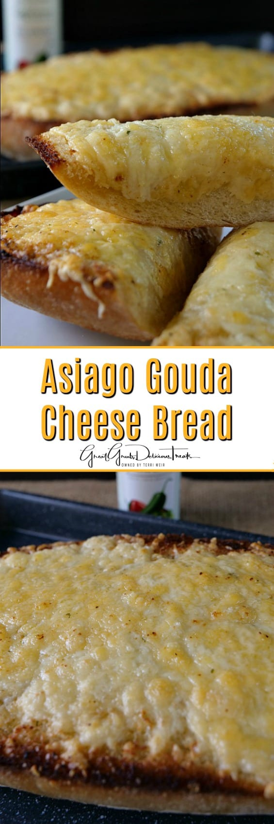Asiago Gouda Cheese Bread
