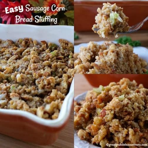 Easy Sausage Corn Bread Stuffing