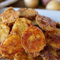 Mini Baked Parmesan Potato Rounds