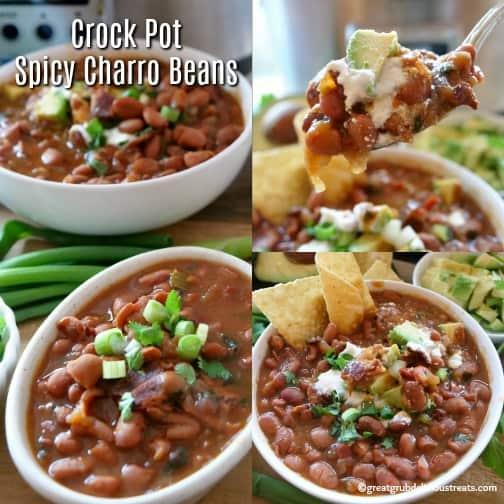 Crock Pot Spicy Charro Beans