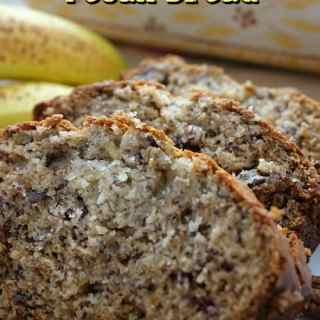 Easy Banana Pecan Bread