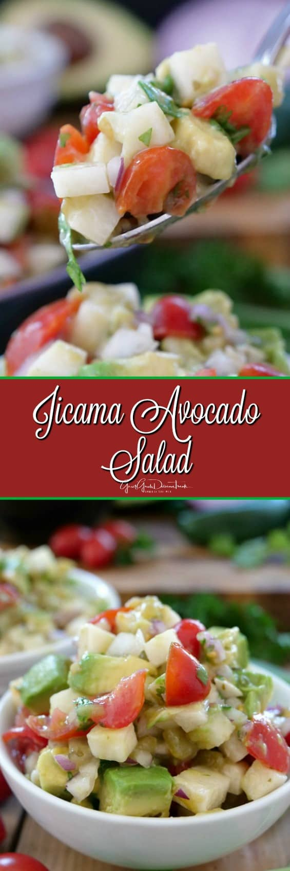 Jicama Avocado Salad