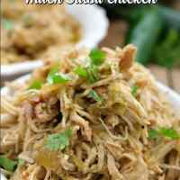 Crock Pot Hatch Salsa Chicken